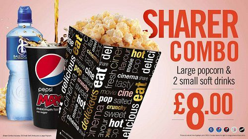 Reel Cinemas Special Combo Price