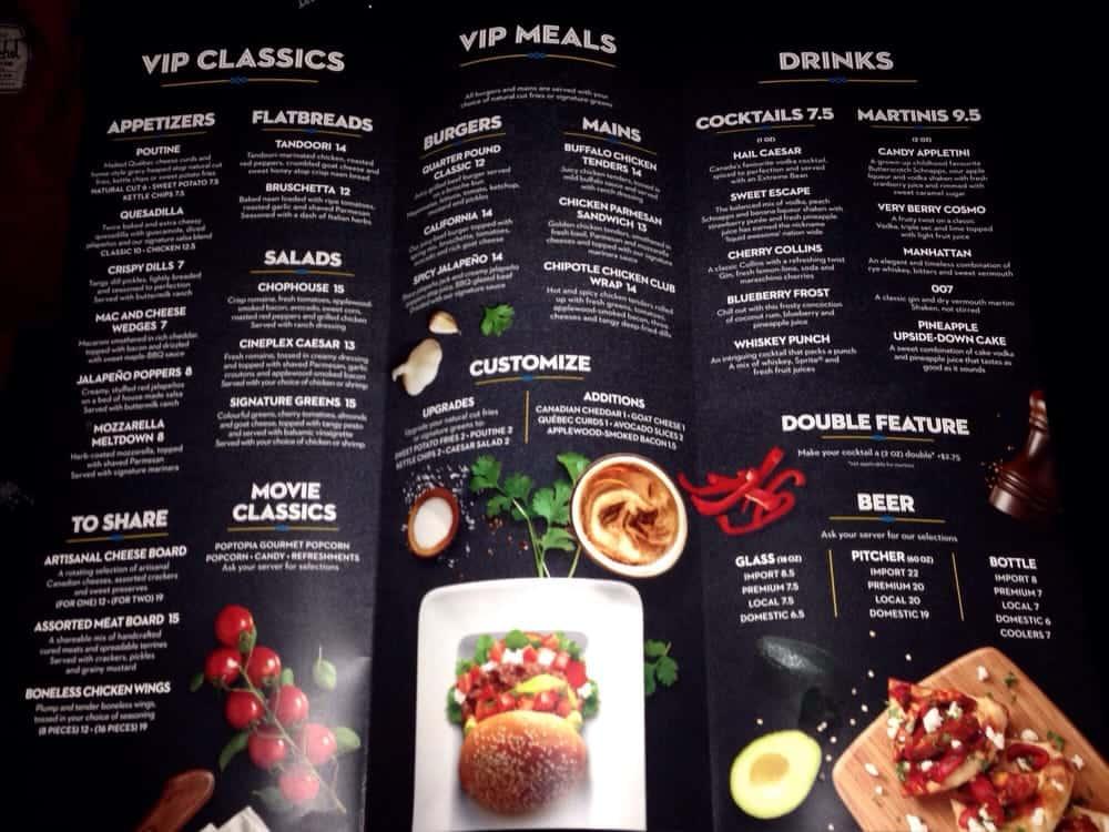 Restaurant Toronto With Food Menu Prices