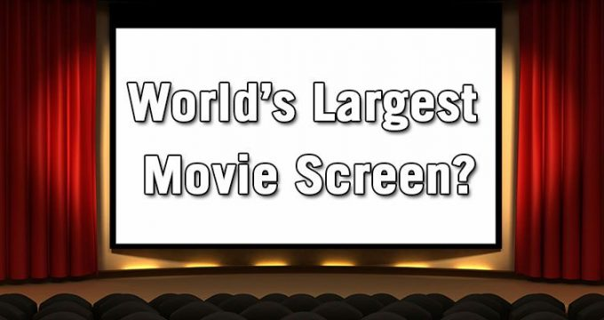 World Largest Movie Theaters