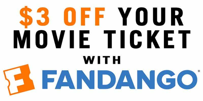 EXPIRED] $3 Off Your Movie Ticket w/ Fandango! - Movie Theater Prices