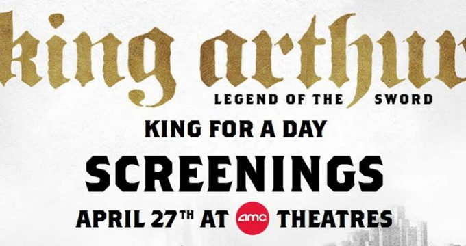 AMC Free King Arthur Screening