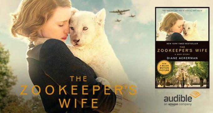Fandango Free Audio Book Zookeepers Wife Promotion