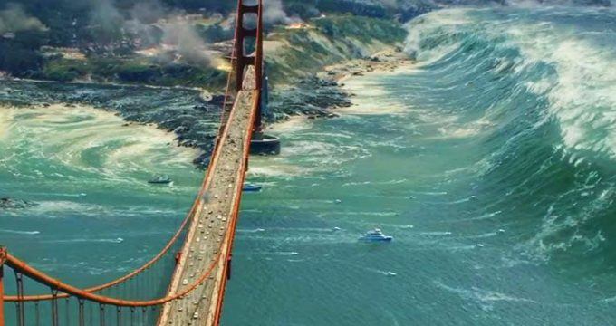 Tsunami from San Andreas Featured