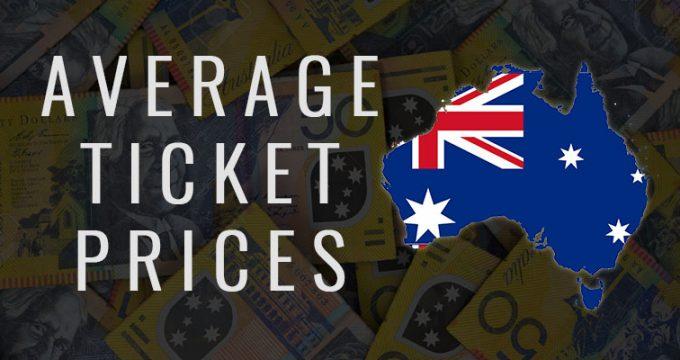 Average Movie Ticket Prices   Australia