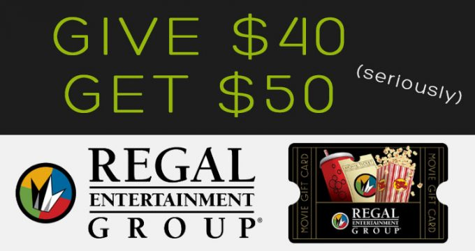 Regal Gift Card Deal