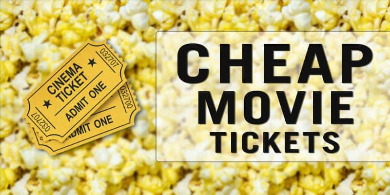 Cheap Movie Tickets Guide 2017