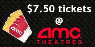 $7.50 AMC Tickets @ Costco | Movie Deal [expired]