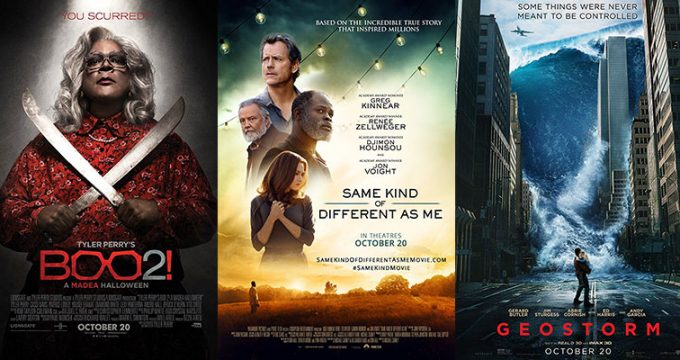 New Movies – Week 41 – October 20th