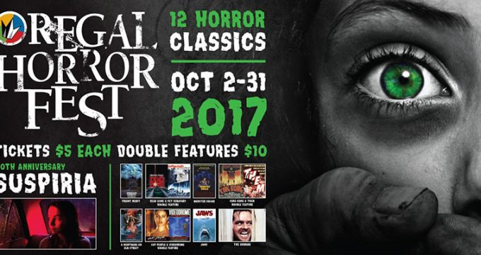 Regal   Oct 2017   Horror Movie Special Deal