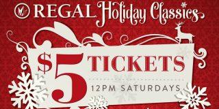 $5 Holiday Classics @ Regal   Movie Deal