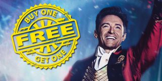B1G1 @ The Greatest Showman w/ ATOM Tickets | Movie Deal [expired]