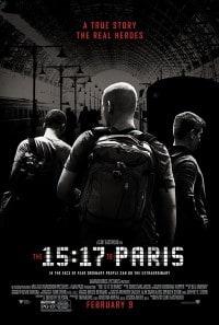 The 15.17 to Paris Movie Poster