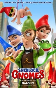 Sherlock Gnomes 2018 Movie Poster
