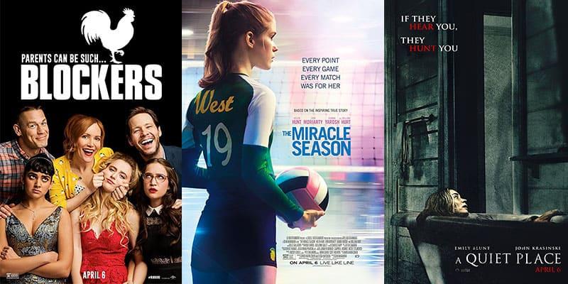 New Movies – Week 14 – April 6th