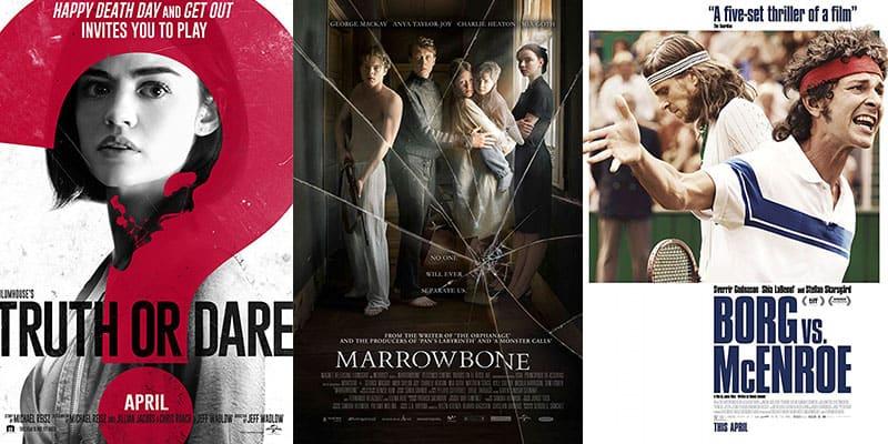 New Movies – Week 15 – April 13th